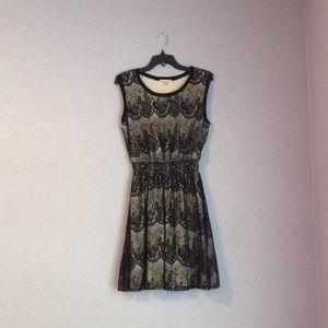 Lacey black dress
